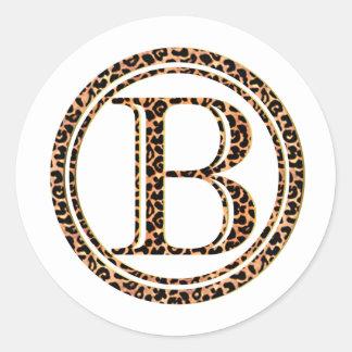 Adesivo leopardo B