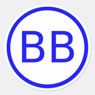 Adesivo Logotipo de BenBerg6 YouTube