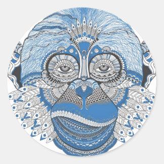 Adesivo Macaco - universal
