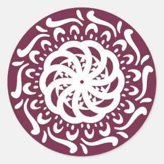 Adesivo Mandala do Mulberry