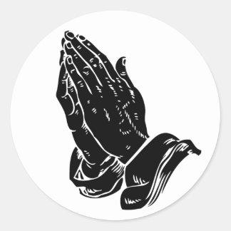 Adesivo Mãos na oração