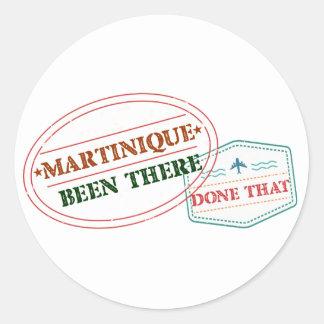 Adesivo Martinica feito lá isso