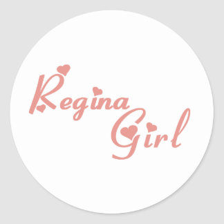 Adesivo Menina de Regina