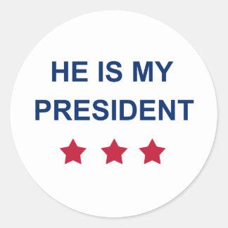 Adesivo Meu presidente