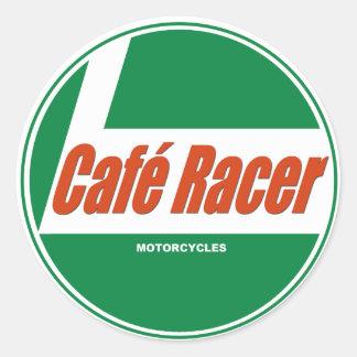 Adesivo Motocicletas do piloto de Café
