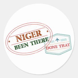 Adesivo Niger feito lá isso