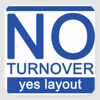 Adesivo NOturnover