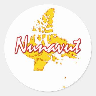 Adesivo Nunavut