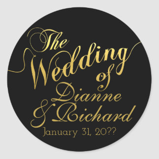 Adesivo o casamento… de nossos nomes