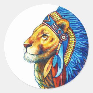 Adesivo O chefe do leão