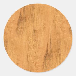 Adesivo O olhar da textura de madeira da grão do bordo