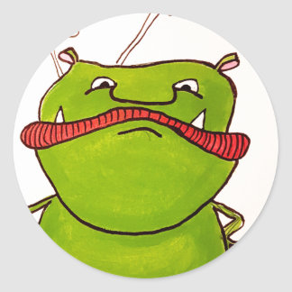 Adesivo Ogre verde Sassy