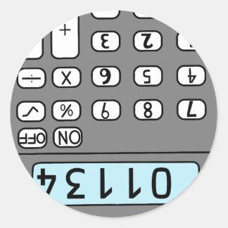 Adesivo olá! calculadora