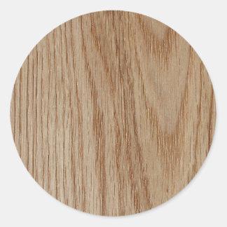 Adesivo Olhar da grão da madeira de carvalho