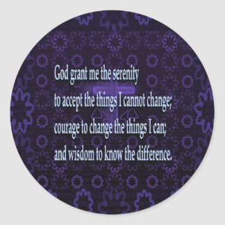 Adesivo Oração da serenidade