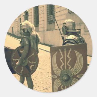 Adesivo Os gladiadores romanos