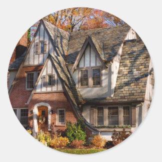 Adesivo Outono - casa do gnomo