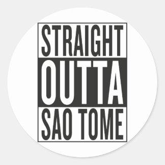 Adesivo outta reto São Tomé