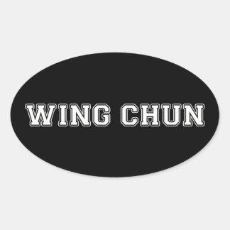 Adesivo Oval Asa Chun