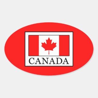 Adesivo Oval Canadá