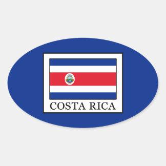 Adesivo Oval Costa Rica