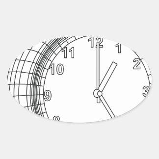 Adesivo Oval despertador