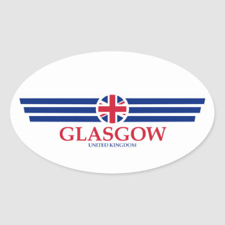 Adesivo Oval Glasgow