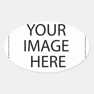 Adesivo Oval Inteiramente customizável SUA IMAGEM AQUI