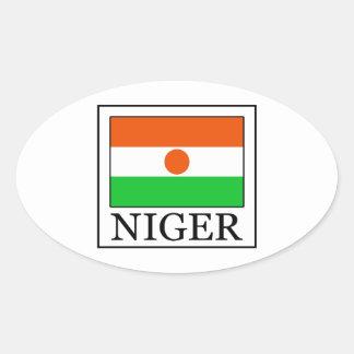 Adesivo Oval Niger