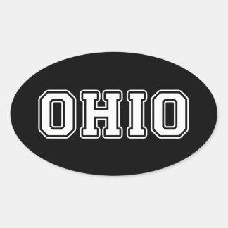 Adesivo Oval Ohio