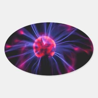 Adesivo Oval Plasma