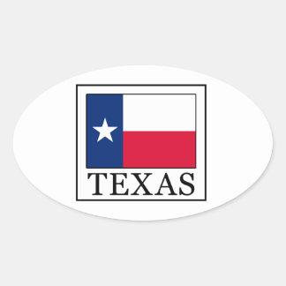 Adesivo Oval Texas