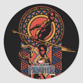 Adesivo Pantera preta | Okoye & painel de Nakia Wakandan