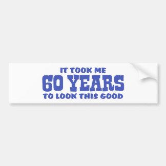 Adesivo Para Carro 60th Aniversário