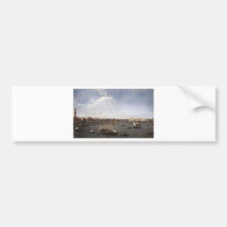 Adesivo Para Carro A bacia de St Mark por Canaletto