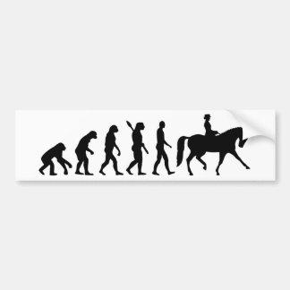 Adesivo Para Carro Adestramento da evolução