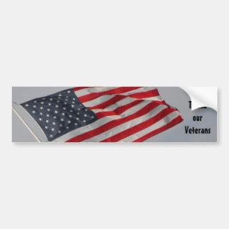 Adesivo Para Carro Agradeça a nossos veteranos - 3