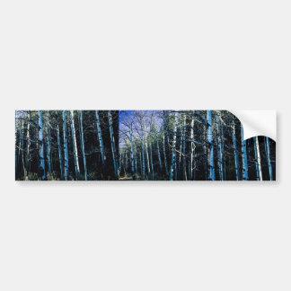 Adesivo Para Carro Álamos tremedores e pinheiros na queda