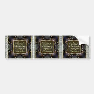 Adesivo Para Carro -Amor 65-Years e cartões compreensivos