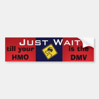 Adesivo Para Carro Apenas cuidados médicos do universal da espera