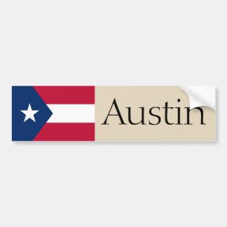 Adesivo Para Carro Austin, Texas props o autocolante no vidro