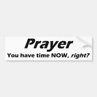 Adesivo Para Carro Autocolante no vidro traseiro da oração!