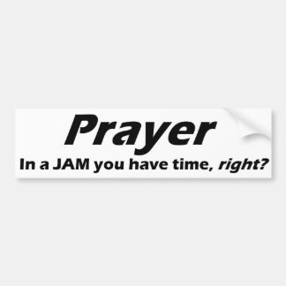 Adesivo Para Carro Autocolante no vidro traseiro da oração! EM UM