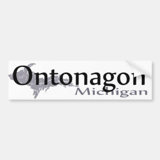 Adesivo Para Carro Autocolante no vidro traseiro de Ontonagon