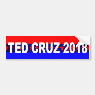 Adesivo Para Carro Autocolante no vidro traseiro de Ted Cruz