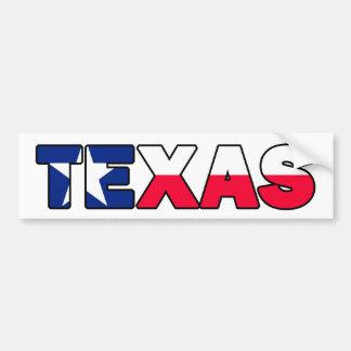 Adesivo Para Carro Autocolante no vidro traseiro de Texas