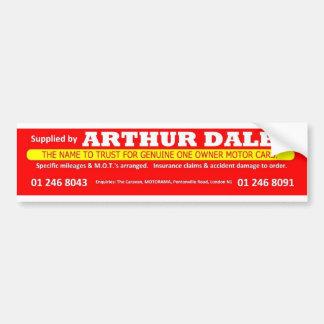 Adesivo Para Carro Autocolante no vidro traseiro do carro de Arthur