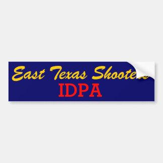 Adesivo Para Carro Autocolante no vidro traseiro do leste de Texas