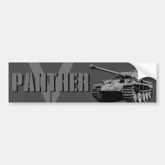 Adesivo Para Carro Autocolante no vidro traseiro do tanque da pantera