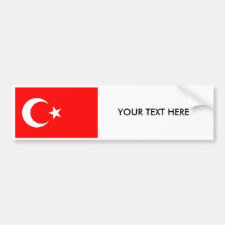 Adesivo Para Carro Autocolante no vidro traseiro turco da BANDEIRA